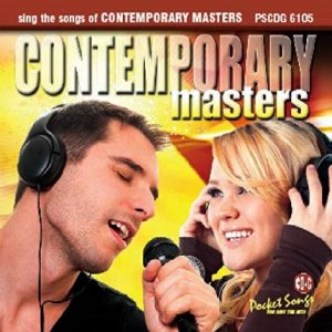 Contemporary Masters CDG - Karaoke Playbacks - 6105 - Front
