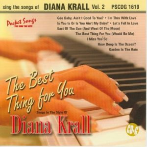 Diana Krall - Karaoke Playbacks - PSCDG 1619 - CD-Front