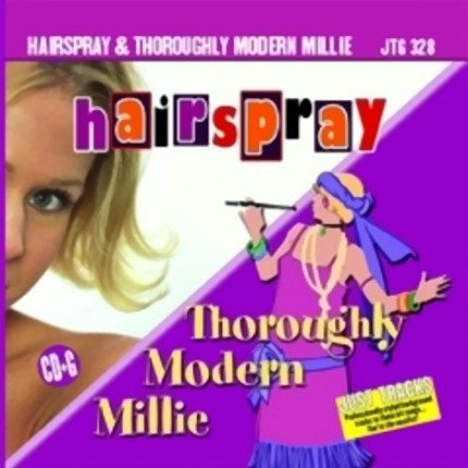 Hairspray & Thoroughly Modern Millie - CD-Front