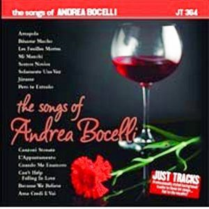 JTG364 - ANDREA BOCELLI - KARAOKE PLAYBACKS - CD-Front