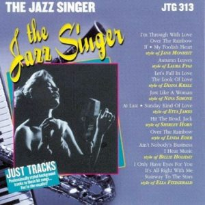 Jazz Singer - Karaoke Playbacks - JTG 313 - CD-Front