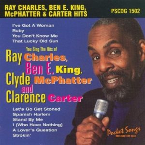 Ray Charles - Ben E King und weitere - Karaoke Playbacks - PSCDG 1502 - CD-Front
