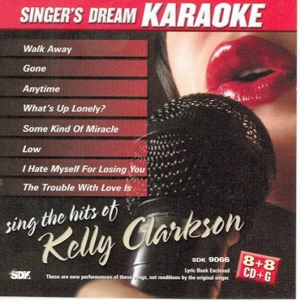 Sing the Hits of Kelly Clarkson - Karaoke Playbacks - CD+G - CD-Front