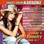 Singer's Dream - Today's Hot Country - Female - Vol. 2 - Karaoke Playbacks - CD+G (Sparangebot)