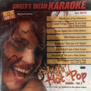Today´s Hot Pop Female Volume 2 – Karaoke Playbacks