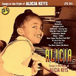 Songs in the Style of Alicia Keys - Karaoke Playbacks - JTG 341