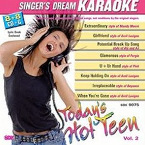 Today's Hot Teen - Vol. 2 - Karaoke Playbacks - CD+G