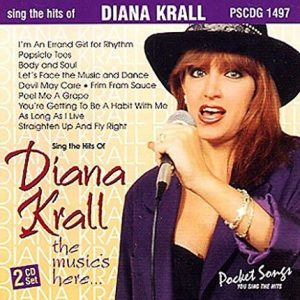 Top-Hits von Diana Krall - The Music's Here - Karaoke Playbacks - PSCDG 1497 - CD-Front