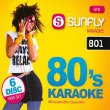 80´s Karaoke - 90 Songs auf 6 CDs - SFD 801 - Karaoke Playbacks