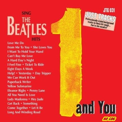 Beatles - Just Tracks 031 – Karaoke Playbacks - CD-Front