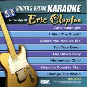 Best Of Eric Clapton – Karaoke Playbacks – SDK 9013