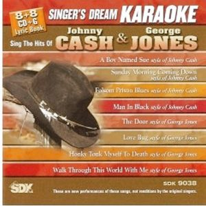 Cash & Jones – Karaoke Playbacks – SDK 9038 - CD-Cover