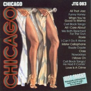 Chicago - Das Musical - Karaoke Playbacks - JTG 083 - CD-Front