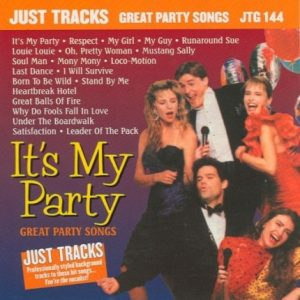 Great Party Songs - Karaoke Playbacks - JTG 144 - CD-Front