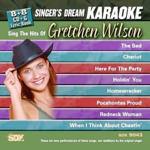 Hits of Gretchen Wilson - Karaoke Playbacks - SDK 9043-CD-Front