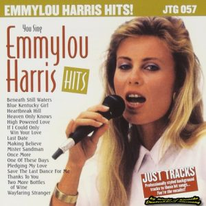 JTG-057 Emmylou Harris - Karaoke Playbacks - Front-CD