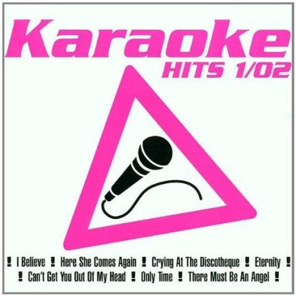 Karaoke Hits 1-02 - Audio Karaoke Playbacks - Front