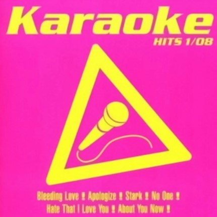 Karaoke Hits 1-08 - Audio Karaoke Playbacks - CD-Front
