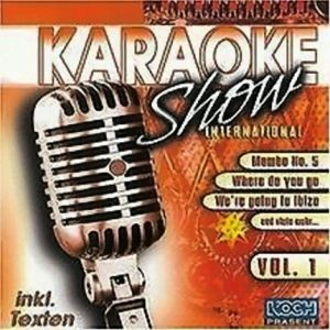 Karaoke-Show-International-Karaoke Playbacks - CD-Cover - Koch-Records