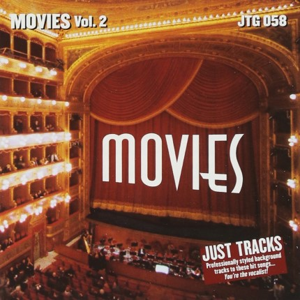 LET'S GO TO THE MOVIES VOL.2 – JTG 058 – Karaoke Playbacks - CD-Front