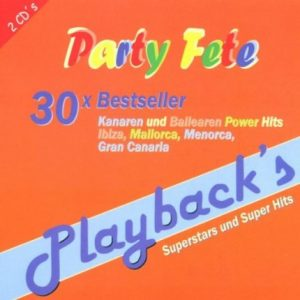 Party Fete - 30 X Bestseller - Karaoke Playbacks - CD-Front