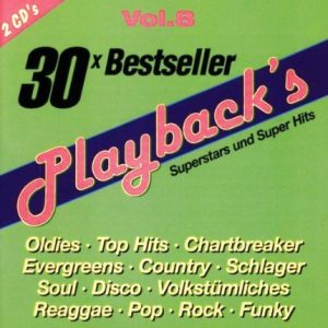 Playback'S Vol.8 - 30 Bestseller - Karaoke Playbacks