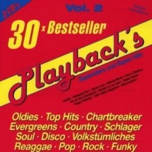 Playbacks Vol.2 - 30 Bestseller - Karaoke Playbacks - CD-Cover