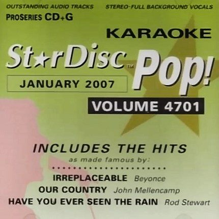 StarDisc - Karaoke Playbacks - Vol.4701 - Jan2007 - CD-Front