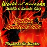 StarDisc - Karaoke Playbacks - Vol.4704 - April 2007 - Karaoke-Songs