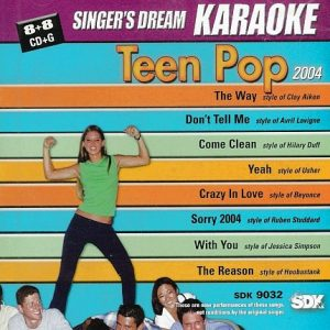 TEEN POP 2004 - SDK 9032 - Karaoke Playbacks - CD-Front