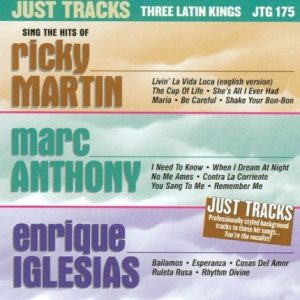 Three Latin Kings – JTG 175 - Karaoke Playbacks - CD-Front