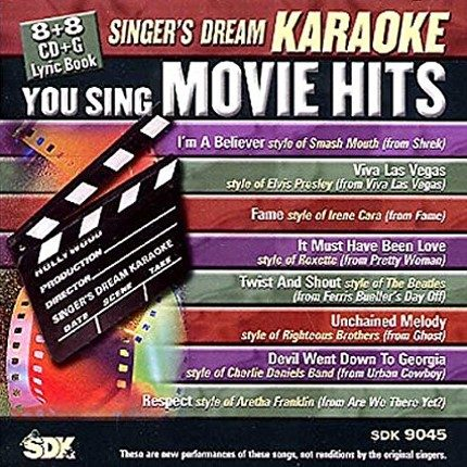 You Sing Movie Hits - Karaoke Playbacks - SDK 9045 - CD-Front