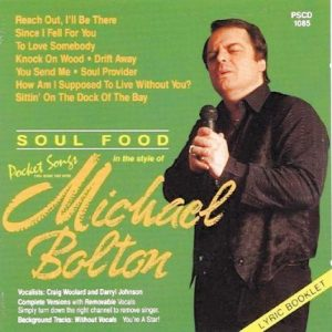 Hits Of Michael Bolton als Karaoke Playbacks - PSCD 1085 - CD-Front