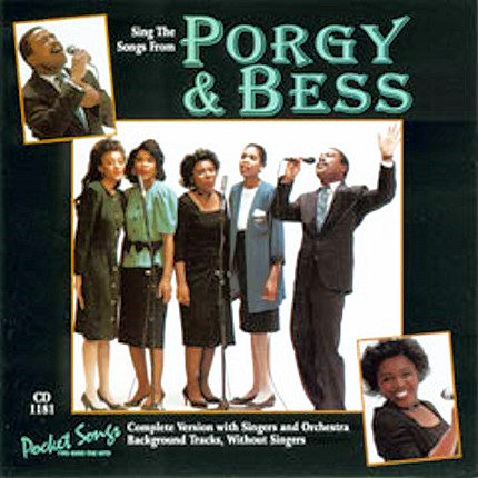 Porgy And Bess - Karaoke Playbacks - PSCDG 1181 - CD-Front