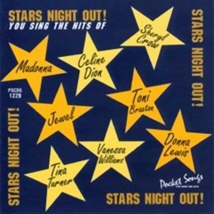 Stars Night Out – Karaoke Playbacks - PSCD1229 - CD-Frontseite