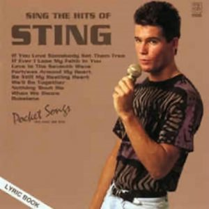 Sting - Karaoke Playbacks - PSCD 1166 - CD-Front