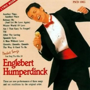 Englebert Humperdink - Karaoke Playbacks - PSCD 1065 - CD-Front