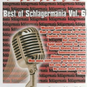 Best Of Schlagermania Vol. 6 - DVD - Karaoke Playbacks - Front -