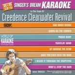 Singer's Dream Karaoke CDG SDK9022 - Sing The Hits of Creedence Clearwater Revival