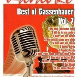 Best Of Gassenhauer Vol.7 - Karaoke Playbacks - DVD - Front