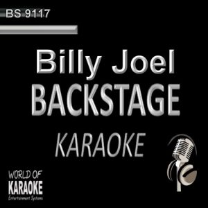 BILLY JOEL Backstage Karaoke BK 9117 - Playbacks CD-Front