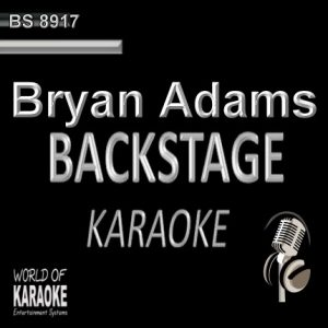 Best of Bryan Adams – Karaoke Playbacks – BS 8917 - Frontansicht - CD+G