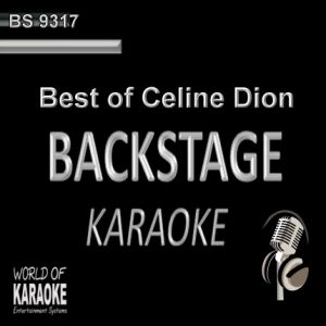 Best of Celine Dion – Karaoke Playbacks – BS 9317 - CD-Front