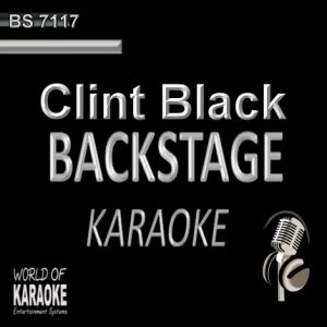 Best of Clint Black – Karaoke Playbacks – BS 7117 - CD-Front-Cover