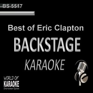 Best of Eric Clapton – Karaoke Playbacks – BS 5517 - CD-Front-Ansicht