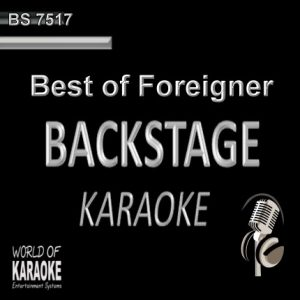 Best of Foreigner – Karaoke Playbacks – BS 7517