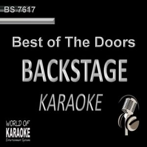 Best of The Doors – Karaoke Playbacks – BS 7617 - CD-Front-Cover -