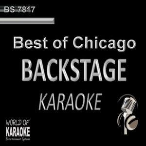Chicago Karaoke Playbacks - Rock Songs - CD G BS7817 - CD-Front
