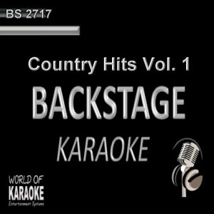 Country Hits Vol. 1 – Karaoke Playbacks – BS 2717 - CD-Front