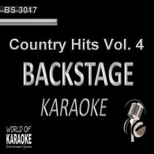 Country Hits Vol. 4 – Karaoke Playbacks – BS 3017 - CD-Front